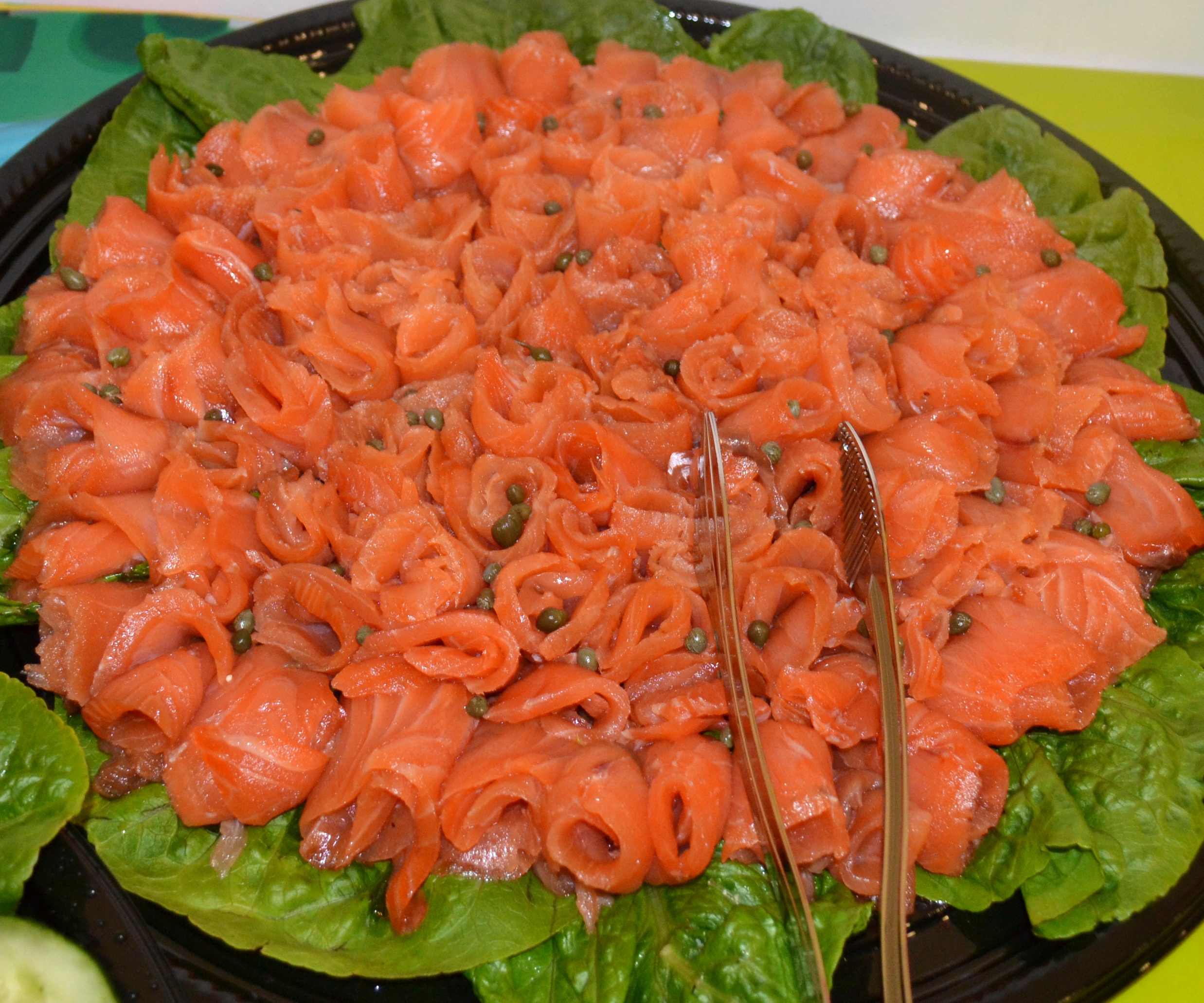 Catering Salmon tray